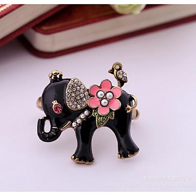 للمرأة خاتم شخصية euramerican في موضة سبيكة مجوهرات إلى زفاف حزب عيد ميلاد