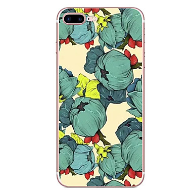 hoesje Voor Apple Patroon Achterkantje Bloem Zacht TPU voor iPhone 7 Plus iPhone 7 iPhone 6s Plus iPhone 6 Plus iPhone 6s Iphone 6