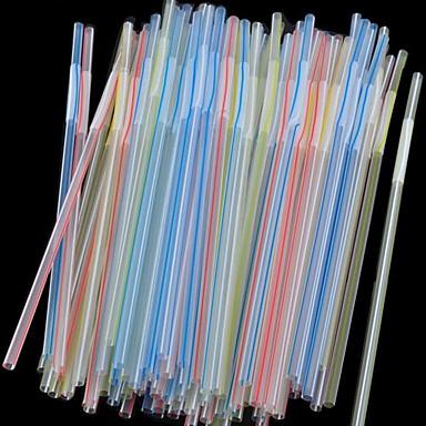 Lässig/Alltäglich Trinkbecher, 100 Polyethylen Saft Smoothie Trinkhalme