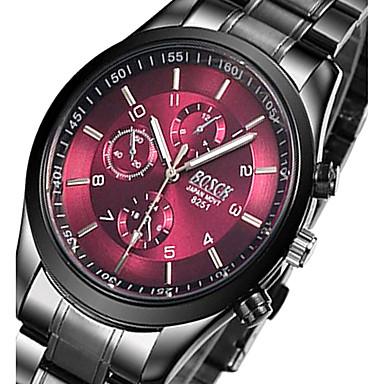 Herrn Paar Kleideruhr Modeuhr Armbanduhr Armband-Uhr Armbanduhren für den Alltag Sportuhr Militäruhr Quartz Legierung Band Charme Retro
