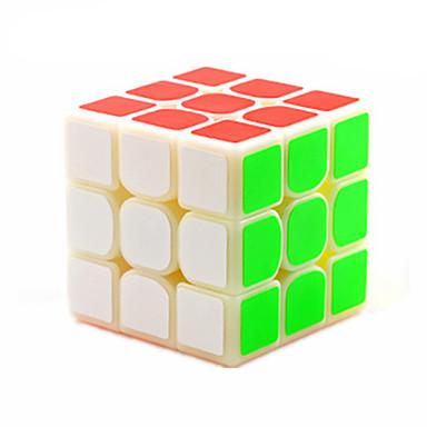 Zauberwürfel 3*3*3 Glatte Geschwindigkeits-Würfel Magische Würfel Puzzle-Würfel Glatte Aufkleber Wettbewerb Geschenk Unisex