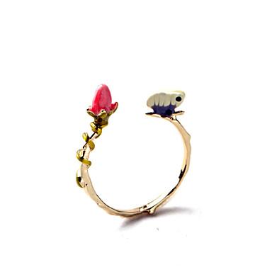 Damen Ring Einzigartiges Design individualisiert nette Art Modeschmuck Aleación Schmuck Für Party Geburtstag