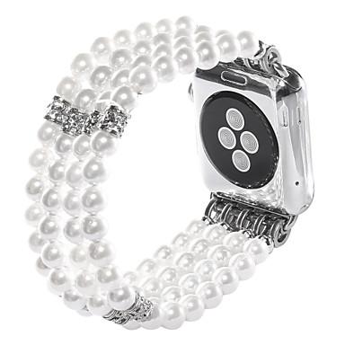 Horlogeband voor Apple Watch Series 3 / 2 / 1 Apple Sieradenontwerp Keramiek Polsband