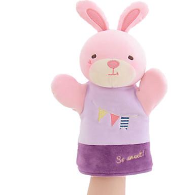 Plüschtiere Puppen Fingerpuppe Spielzeuge Rabbit Tier Tiere Tactel Kinder Stücke