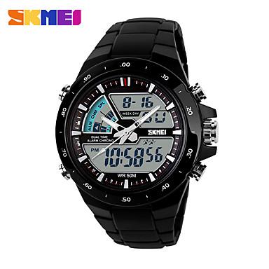 Bărbați Piloane de Menținut Carnea Ceas digital Unic Creative ceas Ceas de Mână Uita-te inteligent Ceas Sport Chineză Calendar Cronograf