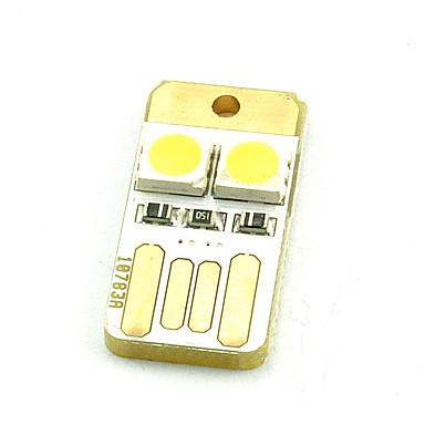 Computer-Tastatur leuchtet mini usb mobile power zwei 5050 chubby pier doppelseitig warmweiß oder kaltweiß