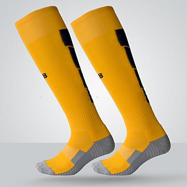 بسيط جوارب الرياضة للرجال جوارب كل الفصول مكافح الانزلاق ملابس واقيه قطن كرة القدم