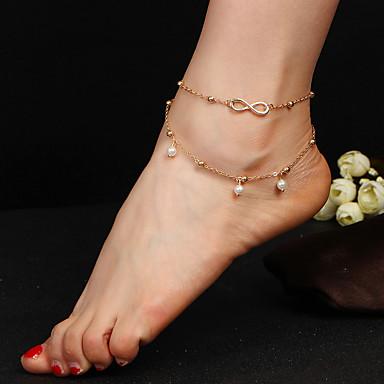 Dames Enkelring/Armbanden Metaallegering Natuur Sieraden Voor Feest Dagelijks