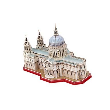 3D - Puzzle Holzpuzzle Modellbausätze Spielzeuge Berühmte Gebäude Kirche Architektur 3D EPS+EPU keine Angaben Stücke