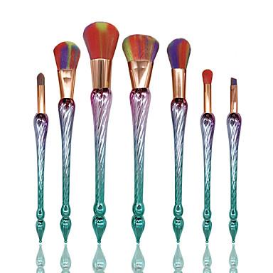 Form-Bürste Grundlagen Pinsel Puderpinsel Wimpernkamm färbende Pinsel Eyeliner Pinsel Wimpernbürste Lidschatten Pinsel Rouge Pinsel