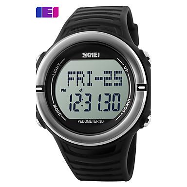 SKMEI Heren Digitaal horloge Sporthorloge Digitaal Hot Sale Plastic Band Amulet Zwart Groen Geel