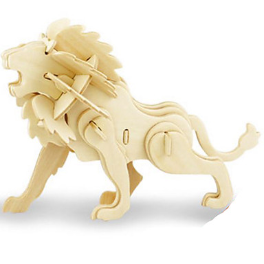 قطع تركيب3D تركيب الخشب نموذج ألعاب ديناصور حيوان 3D حشرة الحيوانات اصنع بنفسك خشب غير محدد قطع