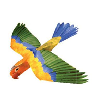 3D-puzzels Bouwplaat Modelbouwsets Papierkunst Vierkant Paard 3D Parrot DHZ HardKaart Paper Klassiek Alle leeftijden