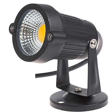 1 buc 3 W Proiectoare LED / Lumini de gazon Rezistent la apă / Decorativ Alb Cald / Alb Rece 12 V / 85-265 V Lumina Exterior / Curte / Grădină 1 LED-uri de margele