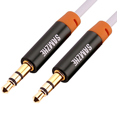 3.5mm audio Jack Cablu, 3.5mm audio Jack to 3.5mm audio Jack Cablu Bărbați-Bărbați Placată cu aur 3.0M (10ft)