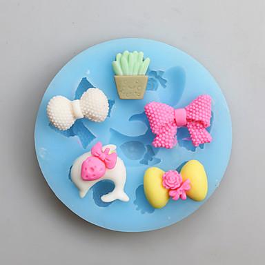 Bakvormen gereedschappen Siliconen Thanksgiving Nieuwjaar Verjaardag voor Candy Cake Moulds