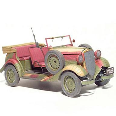 Spielzeug-Autos 3D - Puzzle Papiermodel Spielzeuge Quadratisch Heimwerken Hartkartonpapier keine Angaben Stücke