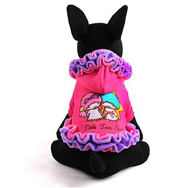 Câine Rochii Îmbrăcăminte Câini Casul/Zilnic Prințesă Mov Roz Costume Pentru animale de companie
