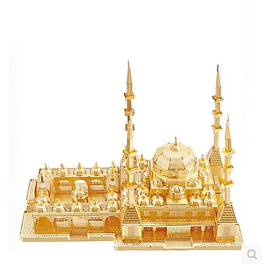 3D - Puzzle Holzpuzzle Metallpuzzle Modellbausätze Berühmte Gebäude Heimwerken Aluminium Metal Klassisch Erwachsene Unisex Geschenk