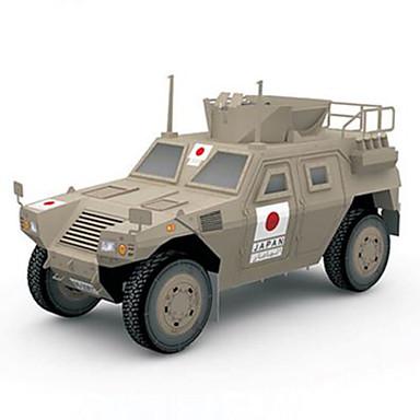 Speelgoedauto's 3D-puzzels Bouwplaat Speeltjes Vierkant Strijdwagen Hard Kaart Paper Niet gespecificeerd Stuks