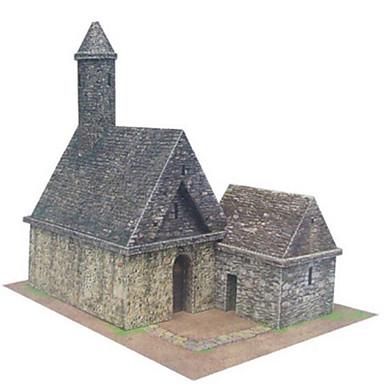 3D - Puzzle Papiermodel Papiermodelle Modellbausätze Haus Heimwerken Hartkartonpapier Klassisch Kinder Jungen Unisex Geschenk