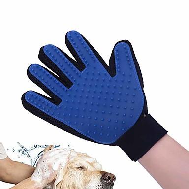كلب الاستمالة العناية الصحية التنظيف مجموعة الاستمالة فرش الحمامات مقاوم للماء المحمول قابلة للطى أخضر أزرق زهري