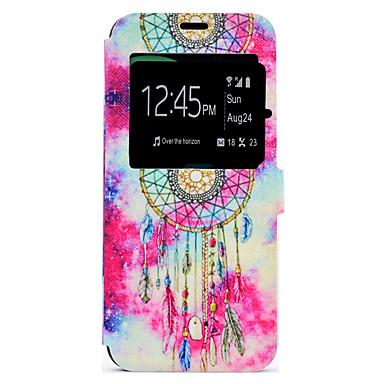 hoesje Voor Samsung Galaxy S8 Plus S8 Kaarthouder met standaard Patroon Volledige behuizing Dromenvanger Hard PU-leer voor S8 S8 Plus S7