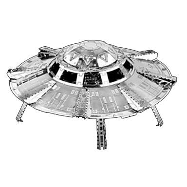 قطع تركيب3D تركيب تركيب معدني مجموعات البناء صاروخ 3D اصنع بنفسك الفولاذ المقاوم للصدأ كروم معدن كلاسيكي للجنسين هدية