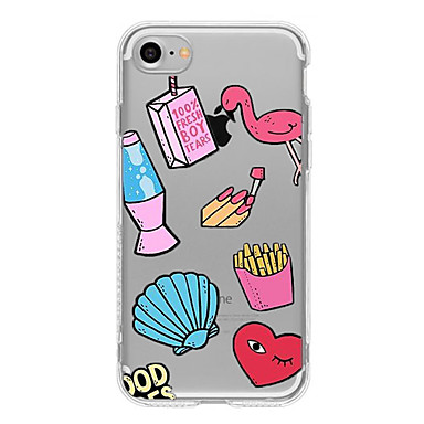 Case voor iphone 7 plus iphone 6 cartoon patroon telefoon zachte shell voor iphone 7 iphone 6 / 6s plus iphone 6 / 6s iphone5 5s se