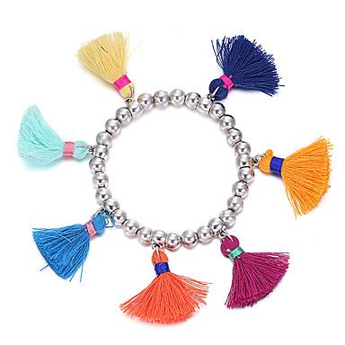 Pentru femei Brățări cu Talismane Bijuterii Lux Curcubeu Natură Turcă Confecționat Manual Tactel Poliamidă Curcubeu Circle Shape Bijuterii