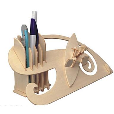 3D - Puzzle Metallpuzzle Holzmodelle Modellbausätze Anderen Heimwerken Naturholz Klassisch Kinder Erwachsene Unisex Geschenk