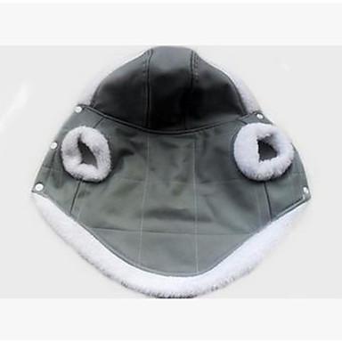 Hund Mäntel / Kapuzenshirts Hundekleidung Solide Weiß / Rosa Stoff / Plüsch / Baumwolle Kostüm Für Haustiere Unisex Lässig / Alltäglich /