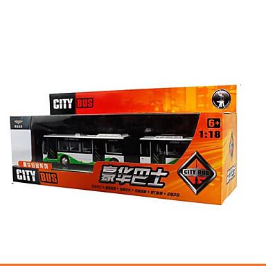 ألعاب دراجة نارية ألعاب مستطيل حافلة الحافلة ذات الطابقين الحديد قطع للجنسين هدية