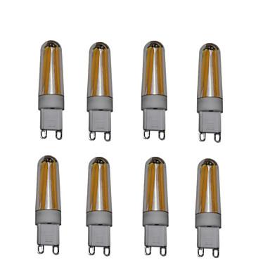 4W LED Doppel-Pin Leuchten T 4 COB 400 lm Warmes Weiß Kühles Weiß AC220 AC230 AC240 V 8 Stücke G9