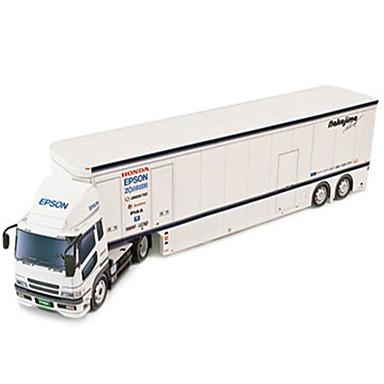 Speelgoedauto's 3D-puzzels Bouwplaat Truck Speeltjes Vierkant Vrachtwagen DHZ Hard Kaart Paper Niet gespecificeerd Stuks