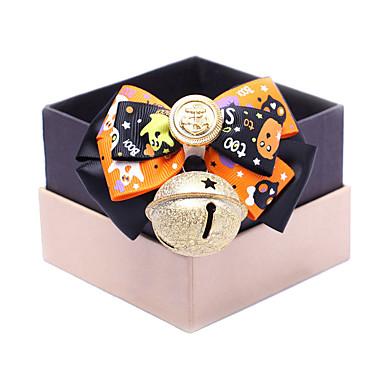 Kat Hond Bandana's & Hoeden Hondenkleding Cosplay Halloween Effen Oranje Willekeurige kleur