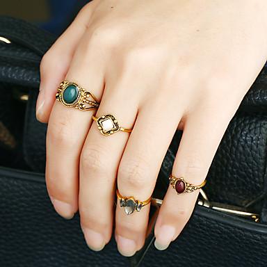 Pentru femei manşetă Ring Inel Band Ring Personalizat Design Circular Design Animal Euramerican Modă Stâncă Aliaj Metalic Reșină Ștras