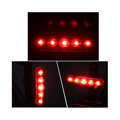 Iluminat Bicicletă Spate LED Ciclism Exterior AAA Lumeni Baterie Roșu Ciclism