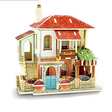3D-puzzels Legpuzzel Hout Model Speeltjes Architectuur 3D DHZ Hout Niet gespecificeerd Stuks