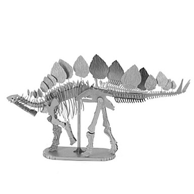 Puzzle 3D Puzzle Puzzle Metal Μοντέλα και κιτ δόμησης Tyrannosaurus Dinosaur Animal 3D Articole de mobilier Reparații Crom MetalPistol