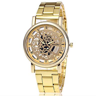 Herrn Einzigartige kreative Uhr Armbanduhr Kleideruhr Modeuhr Armbanduhren für den Alltag Chinesisch Quartz Schlussverkauf Legierung Band