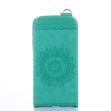Недорогие Чехлы и кейсы для Galaxy S3 Mini-Кейс для Назначение SSamsung Galaxy S5 Mini / S4 Mini / S3 Mini Бумажник для карт / со стендом / Флип Чехол Однотонный Твердый Кожа PU
