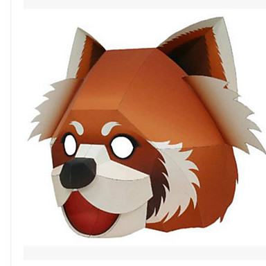 Halloween Mask Animal Mask Paper Craft Hard Card Paper