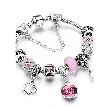 Dames Strand Armbanden Bergkristal Met de Hand Gemaakt Movie Jewelry Alloy Metal Rond Ovaal Sieraden Dagelijks gebruik Casual/Dagelijks