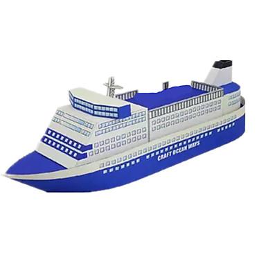 3D-puzzels Bouwplaat Papierkunst Modelbouwsets Schip Simulatie DHZ Hard Kaart Paper Klassiek Kinderen Jongens Unisex Geschenk