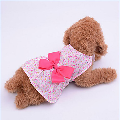 Hund Kleider Hundekleidung Lässig/Alltäglich Schleife Purpur Blau Rosa Kostüm Für Haustiere
