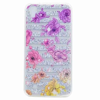 Hülle Für LG K8 LG LG K10 Transparent Muster Rückseite Blume Weich TPU für LG X Power LG V20 LG G6