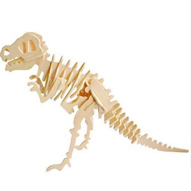 Puzzle 3D Puzzle Modele de Lemn Animal 3D Animale Reparații Lemn Lemn natural Unisex Cadou