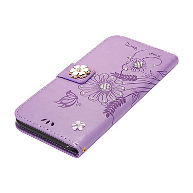 hoesje Voor iPhone 7 Plus iPhone 7 iPhone 6s Plus iPhone 6 Plus iPhone 6s iPhone 6 iPhone 5 iPhone 4/4S Apple Kaarthouder Portemonnee