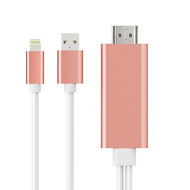 1.4 kabel 1.4 naar Thunderbolt USB 2.0 kabel mannelijk - mannelijke 2.0m (6.5ft) meerdere kleuren